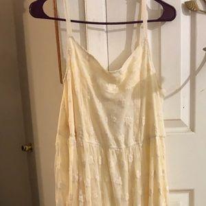 Torrid Ivory Sleeveless Maxi Dress